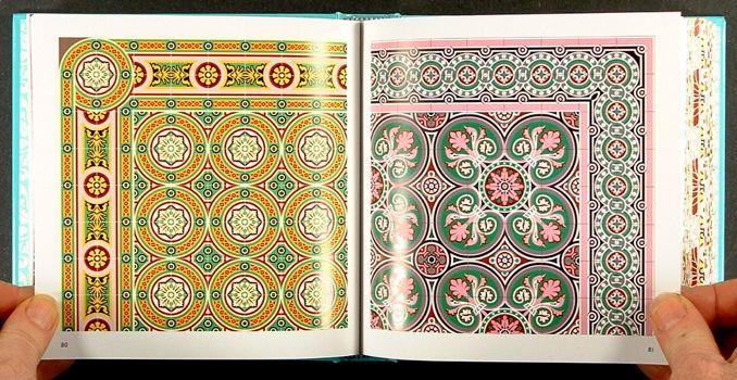 Decorated Ceramic Floor Tiles in Havana Cuba Art Deco Nouveau
